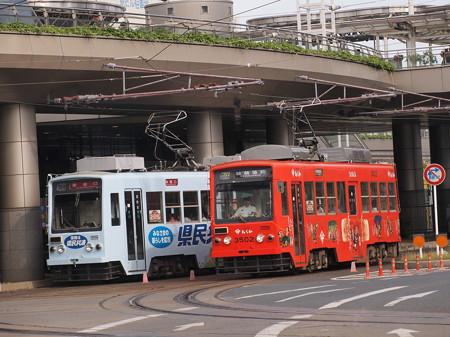 豊橋鉄道モ3500形 駅前~駅前大通04