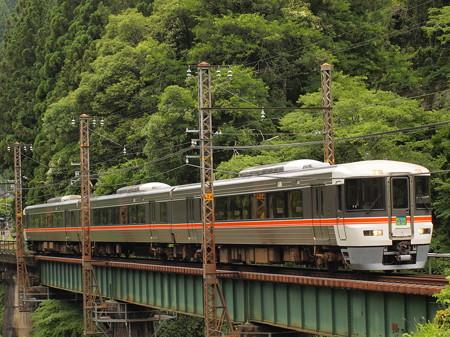 373系特急ワイドビュー伊那路 飯田線向市場~城西08