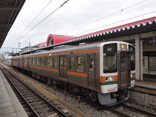 213系普通 飯田線飯田駅