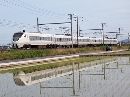 683系特急しらさぎ 東海道本線岐阜~木曽川