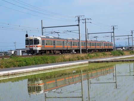 313系普通 東海道本線岐阜~木曽川01