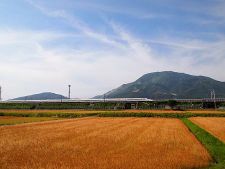 N700系のぞみ   東海道新幹線米原~岐阜羽島05