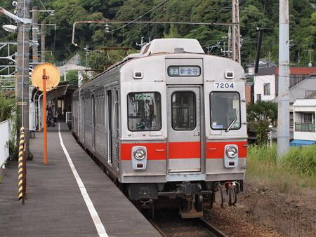 大井川鉄道7200系 金谷駅02