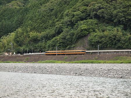近鉄16000系普通  大井川鐵道塩郷駅周辺06