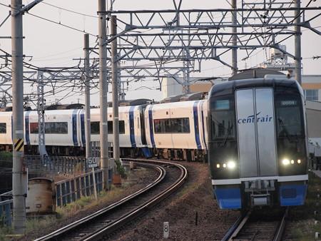 名鉄2000系ミュースカイ 名鉄名古屋本線東枇杷島駅01