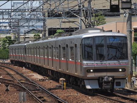 名鉄3300系急行 名鉄名古屋本線神宮前駅