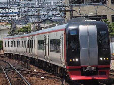 名鉄2200系特急 名鉄名古屋本線神宮前駅01
