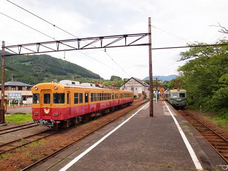 京阪旧3000系   大井川鐵道家山駅02
