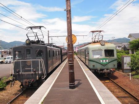 ED500 SLかわね路と南海21000系普通 大井川本線五和駅