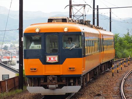近鉄16000系急行 大井川鐵道金谷駅01