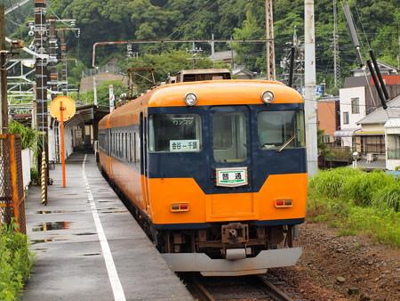 近鉄16000系急行 大井川鐵道金谷駅02
