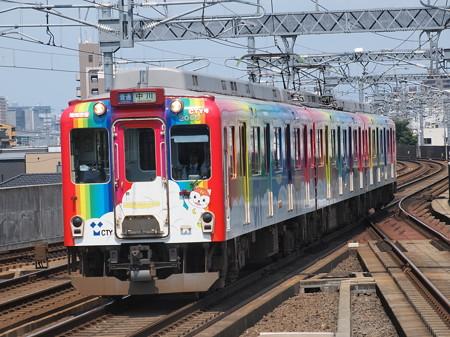 近鉄2000系普通 近鉄名古屋線八田駅