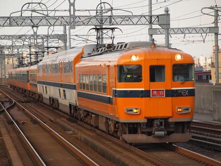近鉄30000系名伊乙特急 近鉄名古屋線八田駅