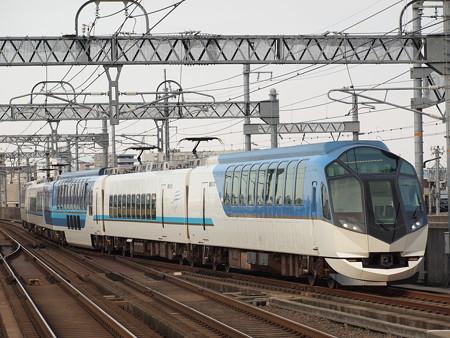 近鉄50000系しまかぜ回送 近鉄名古屋線八田駅