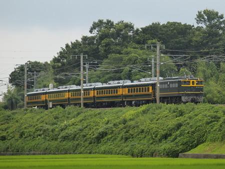 EF65 サロンカーなにわ婚活 東海道本線稲枝~能登川01