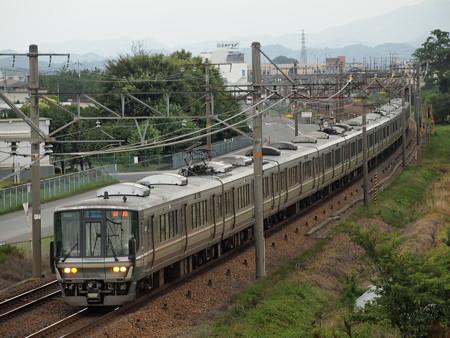 223系新快速 東海道本線河瀬~稲枝