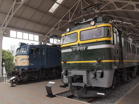 EF81 トワイライトエクスプレス 京都鉄道博物館02