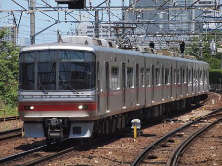 名鉄5000系準急 名鉄名古屋本線神宮前駅