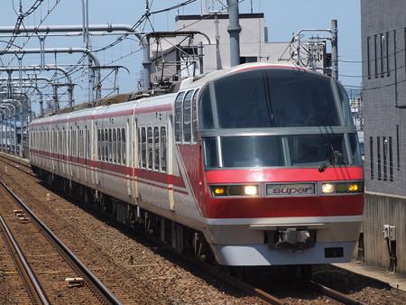 名鉄1000系特急 名鉄常滑線柴田駅02