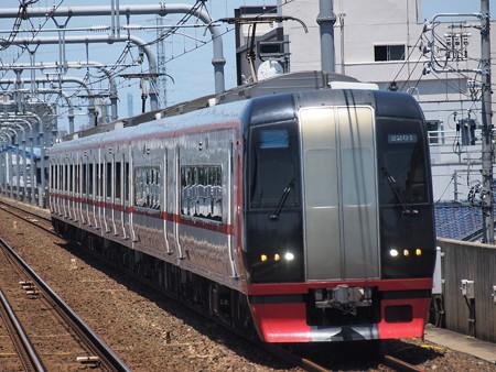 名鉄2200系特急 名鉄常滑線柴田駅