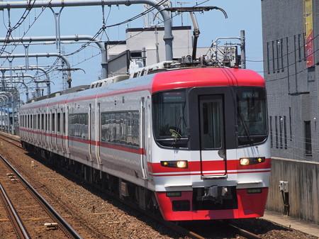 名鉄1700系特急 名鉄常滑線柴田駅