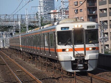 313系快速  中央本線鶴舞駅01