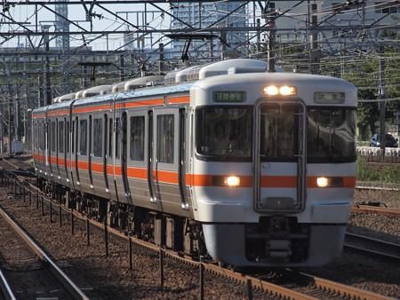 313系区間快速 東海道本線熱田駅
