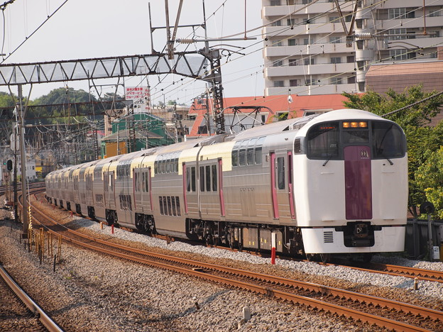 215系湘南ライナー 東海道本線戸塚駅03