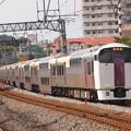 写真: 215系湘南ライナー 東海道本線戸塚駅03