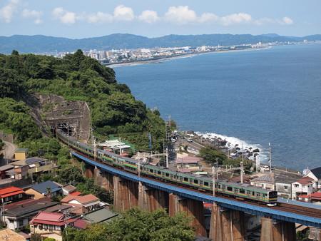 E231系  東海道本線早川~根府川02