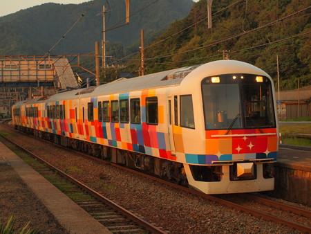 485系きらきらうえつ羽越本線越後寒川駅02