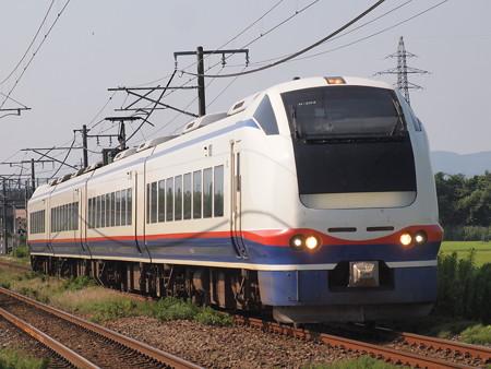 E653系快速おはよう信越  信越本線荻川~さつき野01