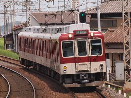 近鉄2400系準急 近鉄名古屋線富田駅