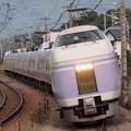 E351系特急スーパーあずさ中央本線韮崎~塩崎02
