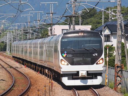 E257系特急あずさ中央本線韮崎~塩崎01