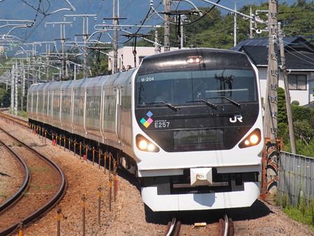 E257系特急あずさ中央本線韮崎~塩崎03