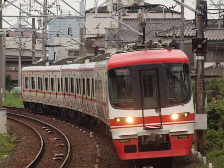 名鉄1700系特急 名鉄犬山線大山寺駅
