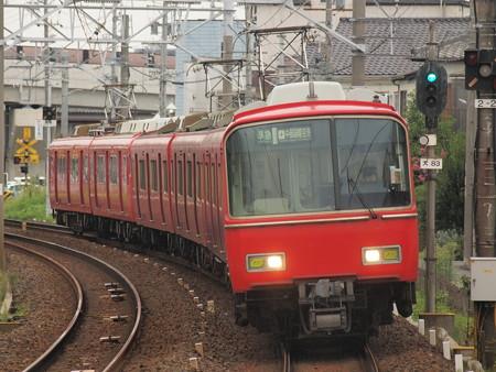 名鉄6800系準急 名鉄犬山線大山寺駅
