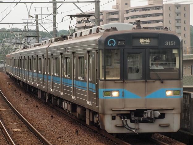 名古屋市営地下鉄3050形普通 名鉄豊田線三好ヶ丘駅
