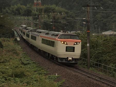485系いろどり木曽路号 中央本線大桑~須原01