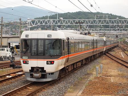 383系ワイドビューしなの  中央本線中津川駅02