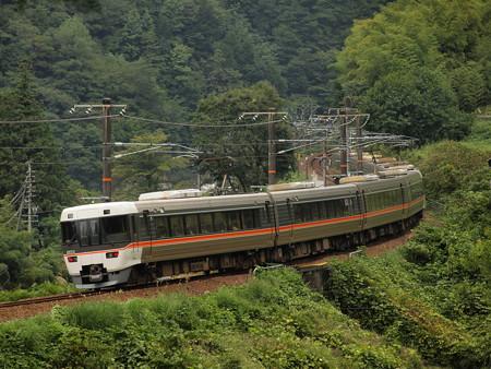 383系ワイドビューしなの  中央本線倉本~須原01