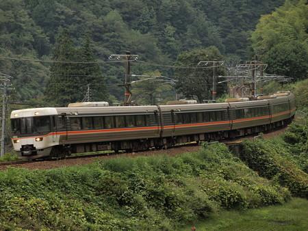 383系ワイドビューしなの  中央本線倉本~須原02