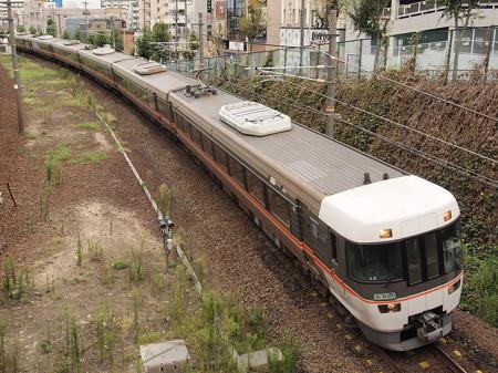 383系特急しなの 中央本線鶴舞~金山