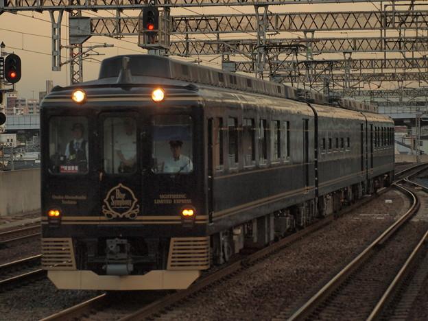 近鉄16200系 青の交響曲 近鉄南大阪線今川駅