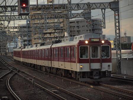 近鉄6020系準急 近鉄南大阪線今川駅04
