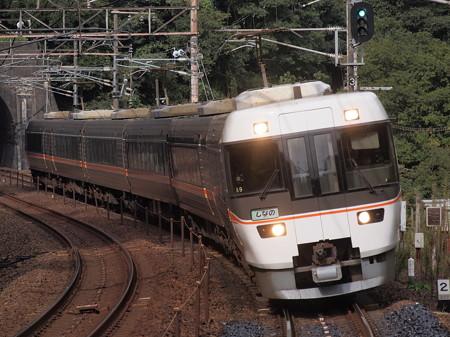 383系特急しなの 中央本線古虎渓駅01