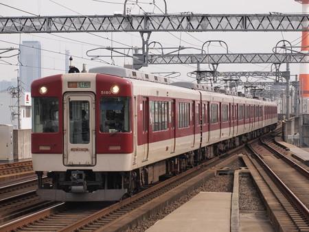 近鉄5200系急行 近鉄名古屋線八田駅