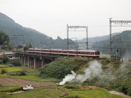 近鉄1400系急行 近鉄大阪線三本松~室生口大野01