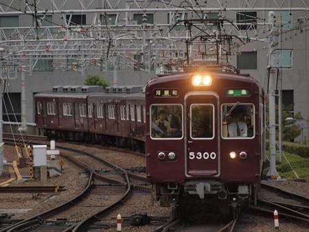 阪急5300系準急 阪急京都線梅田駅
